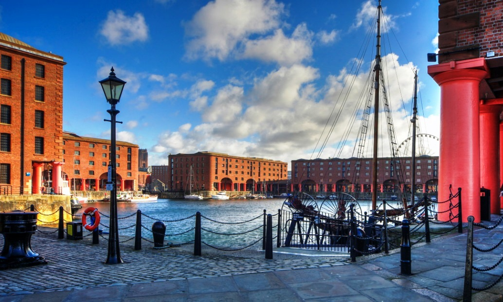 Liverpool Shops and Docks