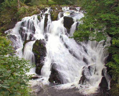 Swallow Falls, Betws-Y-Coed and Conwy