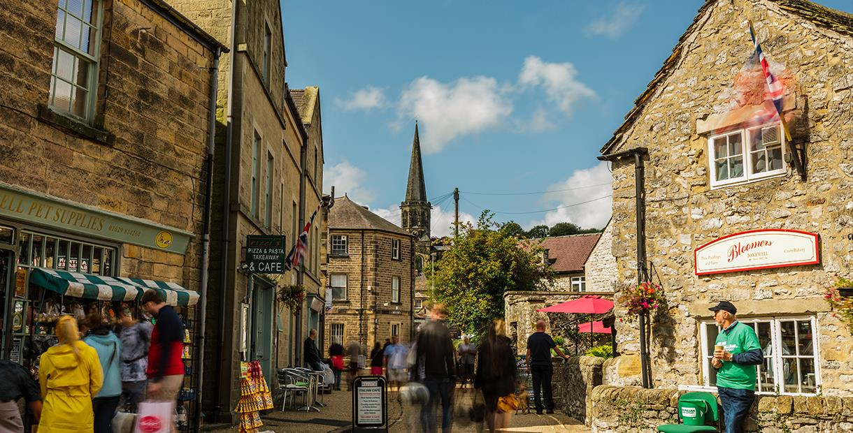 Bakewell On Market Day